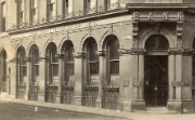 Historic photograph of a bank branch