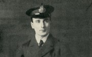 Freund Beaumont in his naval uniform