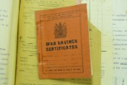 War savings certificate book