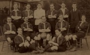 Football team photo, 1913