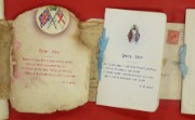 Christmas cards to staff on war service