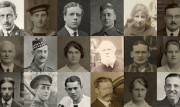 Montage photograph of staff faces